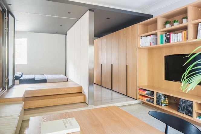 Tiny Apartment With Functional Design