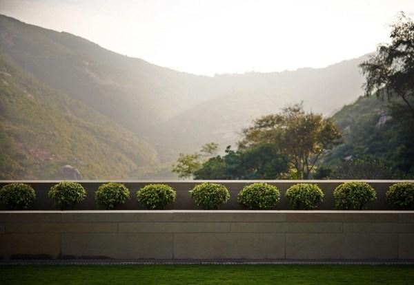 Contemporary Hong Kong Villa Inspired Traditional