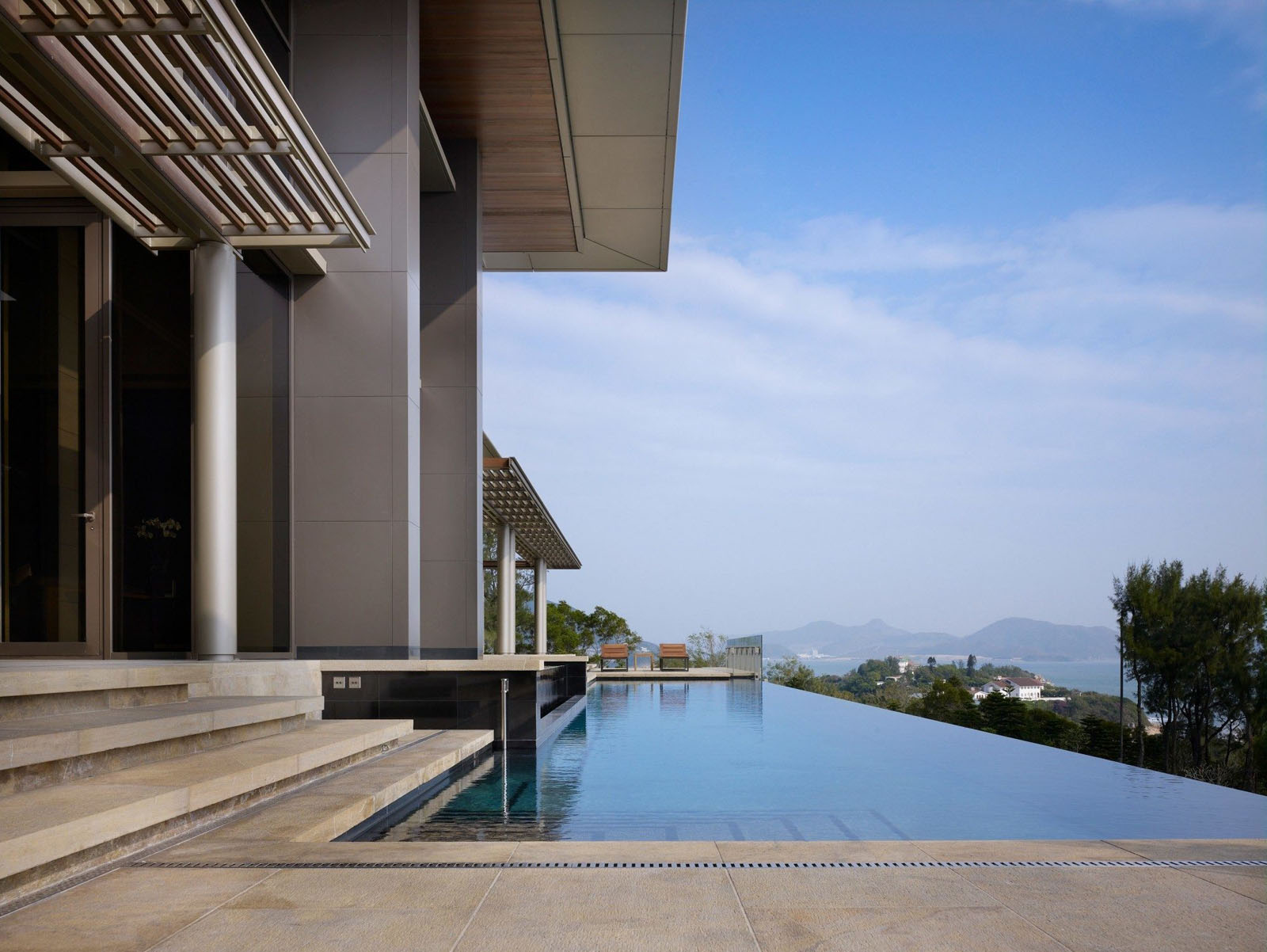Contemporary Hong Kong Villa Inspired By Traditional Chinese Architecture  iDesignArch