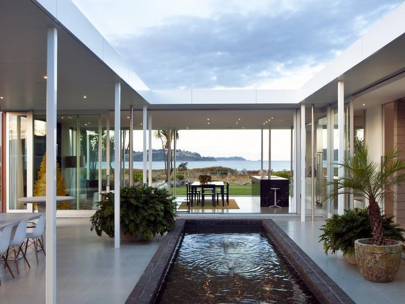 Single Level Beach House In New Zealand  iDesignArch