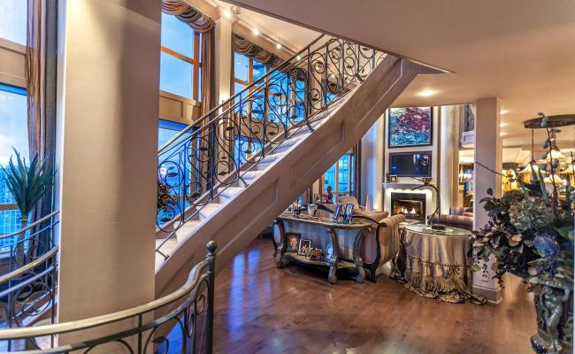 The Ultimate Luxury Penthouse Mansion In Vancouver