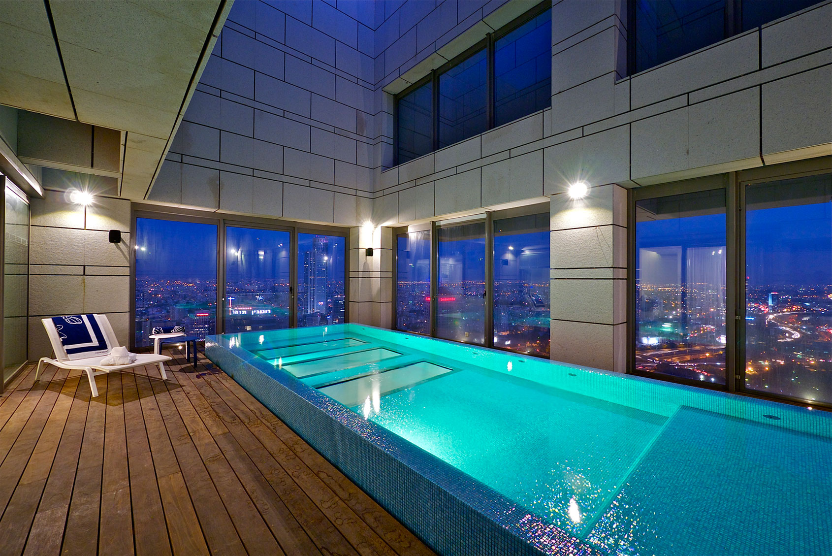 Stunning Penthouse With Private Rooftop Swimming Pool  iDesignArch  Interior Design
