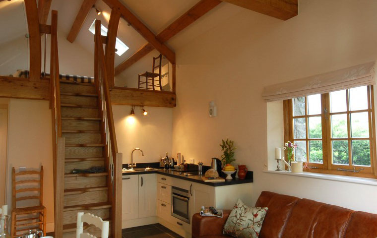 kitchen floor designs hood kitchens small cottage barn conversion in north wales | idesignarch ...