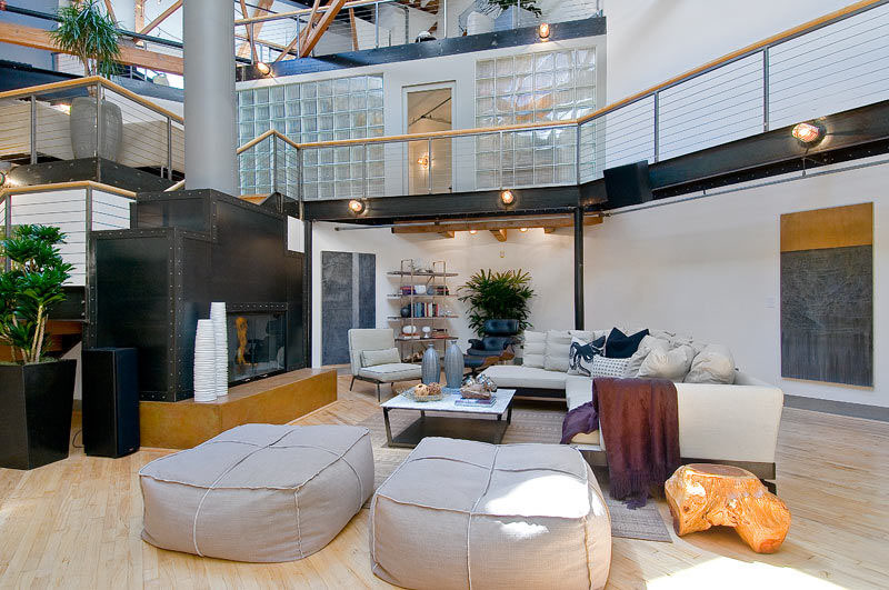 Spectacular Loft In Trendy SoMa IDesignArch Interior