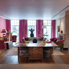 Modern Kitchen Chairs Set For Girls Trendy Soho Hotel London Interiors | Idesignarch ...