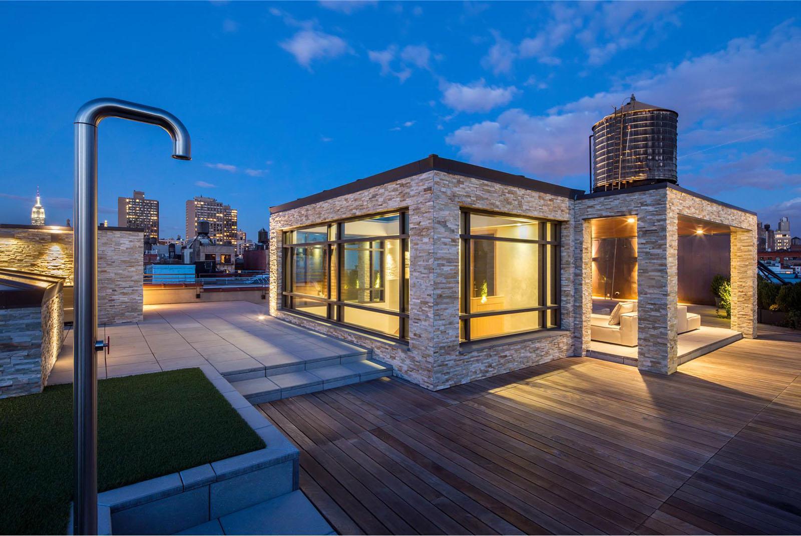 Exclusive Lower Manhattan Penthouse Loft In Soho  iDesignArch  Interior Design Architecture