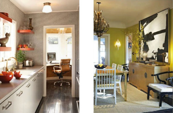 contemporary kitchen lighting moduler charming spanish bungalow converted to office ...