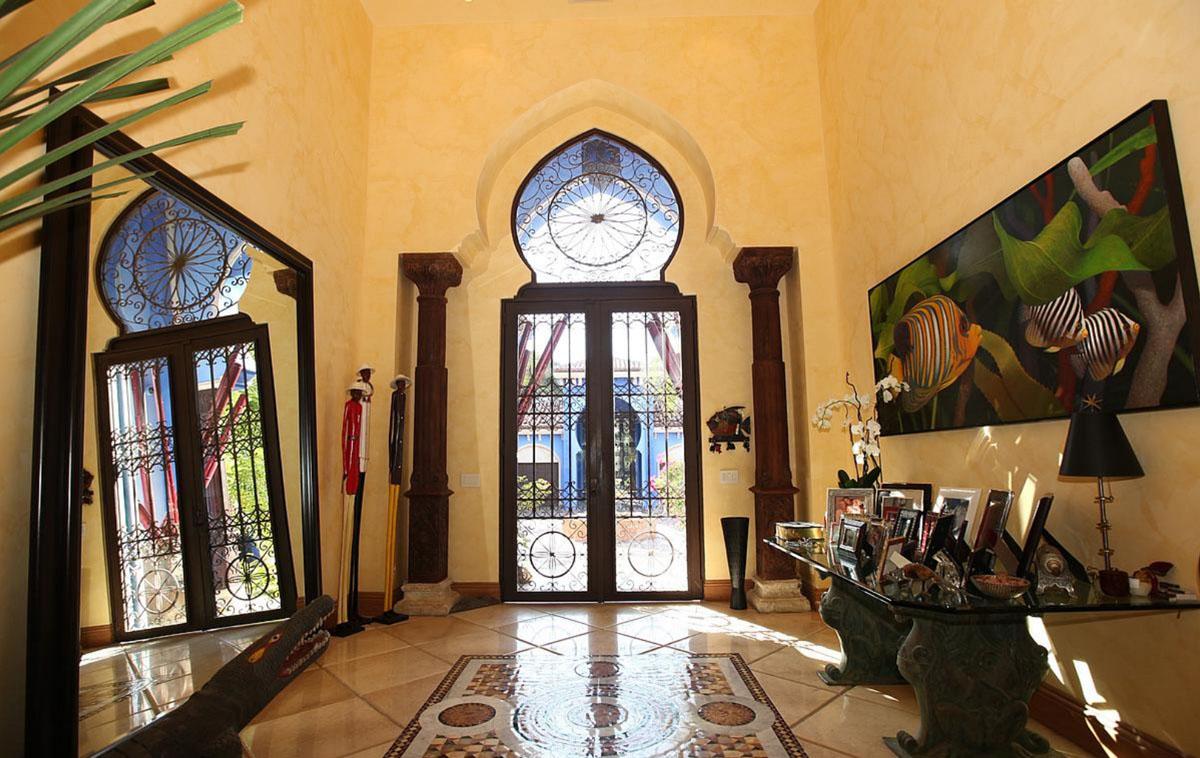 Villa In Miami With Dramatic Moroccan Architecture IDesignArch Interior Design Architecture