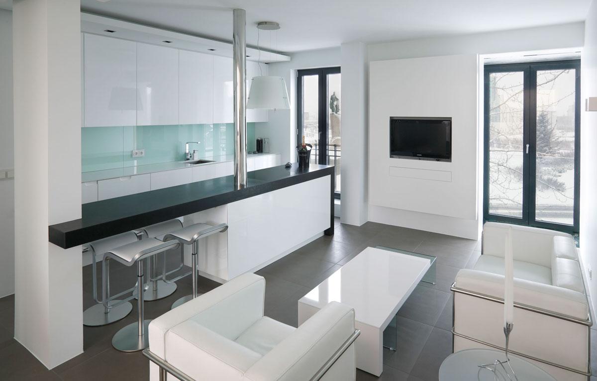 560 Square Foot Studio Apartment In Iceland  iDesignArch  Interior Design Architecture