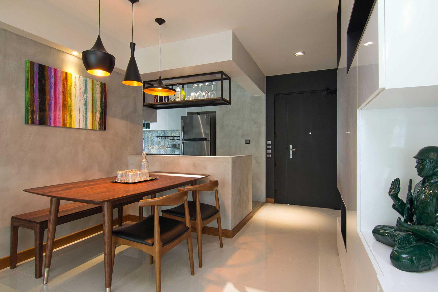 Cozy Apartment In Singapore With Stylish Elements IDesignArch Interior Design Architecture