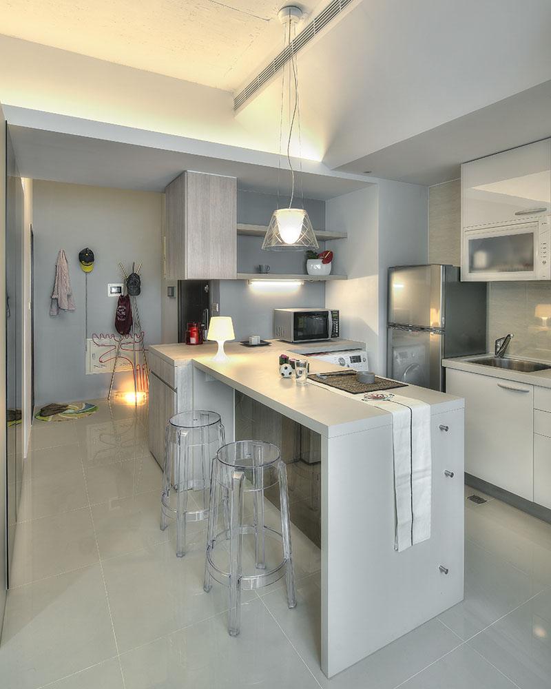 Small Taipei Studio Apartment With Clever Efficient Design  iDesignArch  Interior Design