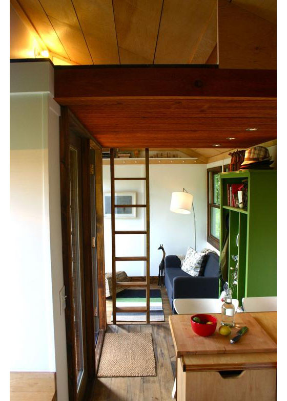 Rustic Modern Tiny House For Tall People Idesignarch