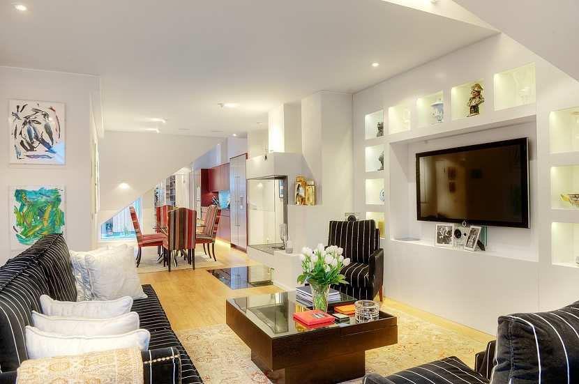 Tastefully Decorated Apartment With Open Floor Plan IDesignArch Interior Design