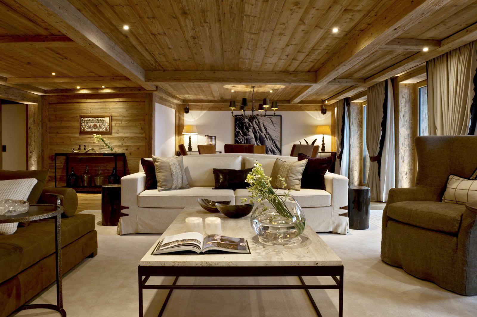 Swiss Alpine Luxury At The Alpina Gstaad Hotel  iDesignArch  Interior Design Architecture