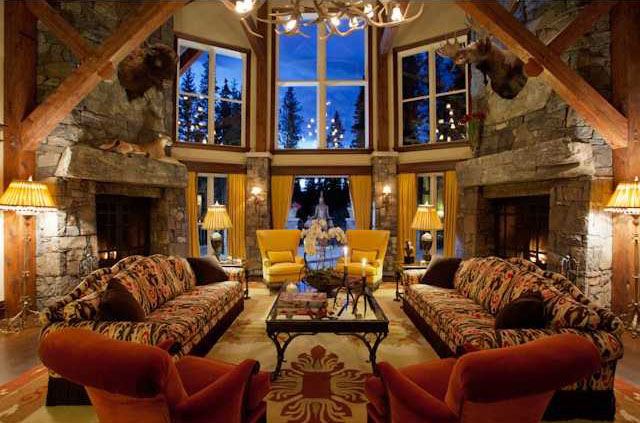 Canmore Castle In The Canadian Rockies  iDesignArch  Interior Design Architecture  Interior