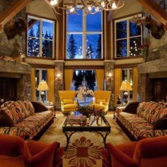 Decorative Living Room Ideas Light Color Canmore Castle In The Canadian Rockies | Idesignarch ...