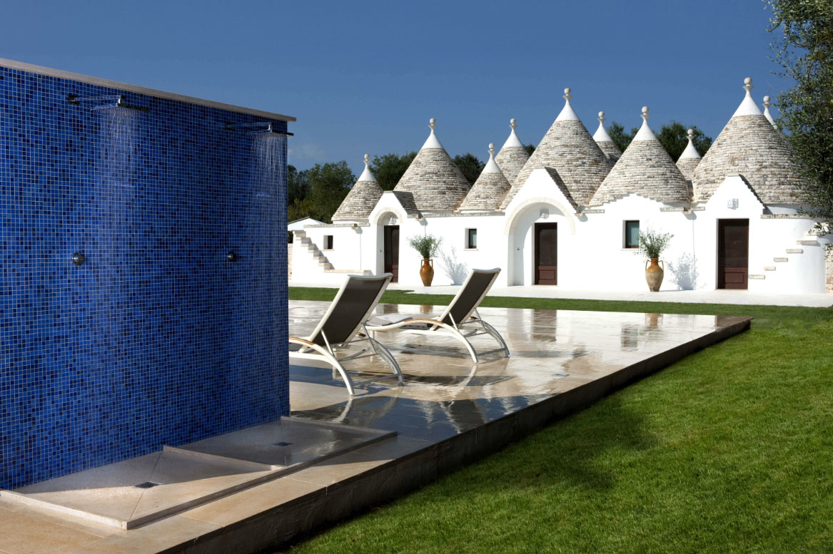 luxury outdoor kitchens kitchen paper towel dispenser the trullo - an exclusive private villa in southern italy ...