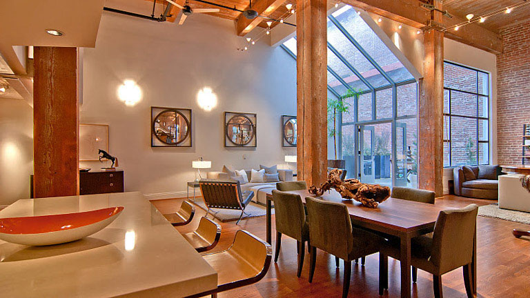 Timeless Open Warehouse Loft  iDesignArch  Interior