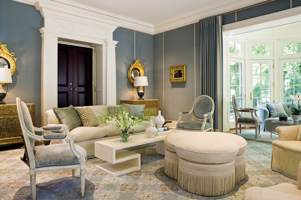 Elegant Traditional Home Interior Design of a Colonial Revival House  iDesignArch  Interior