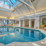 Custom Indoor Glass Swimming Pool For Contemporary Home