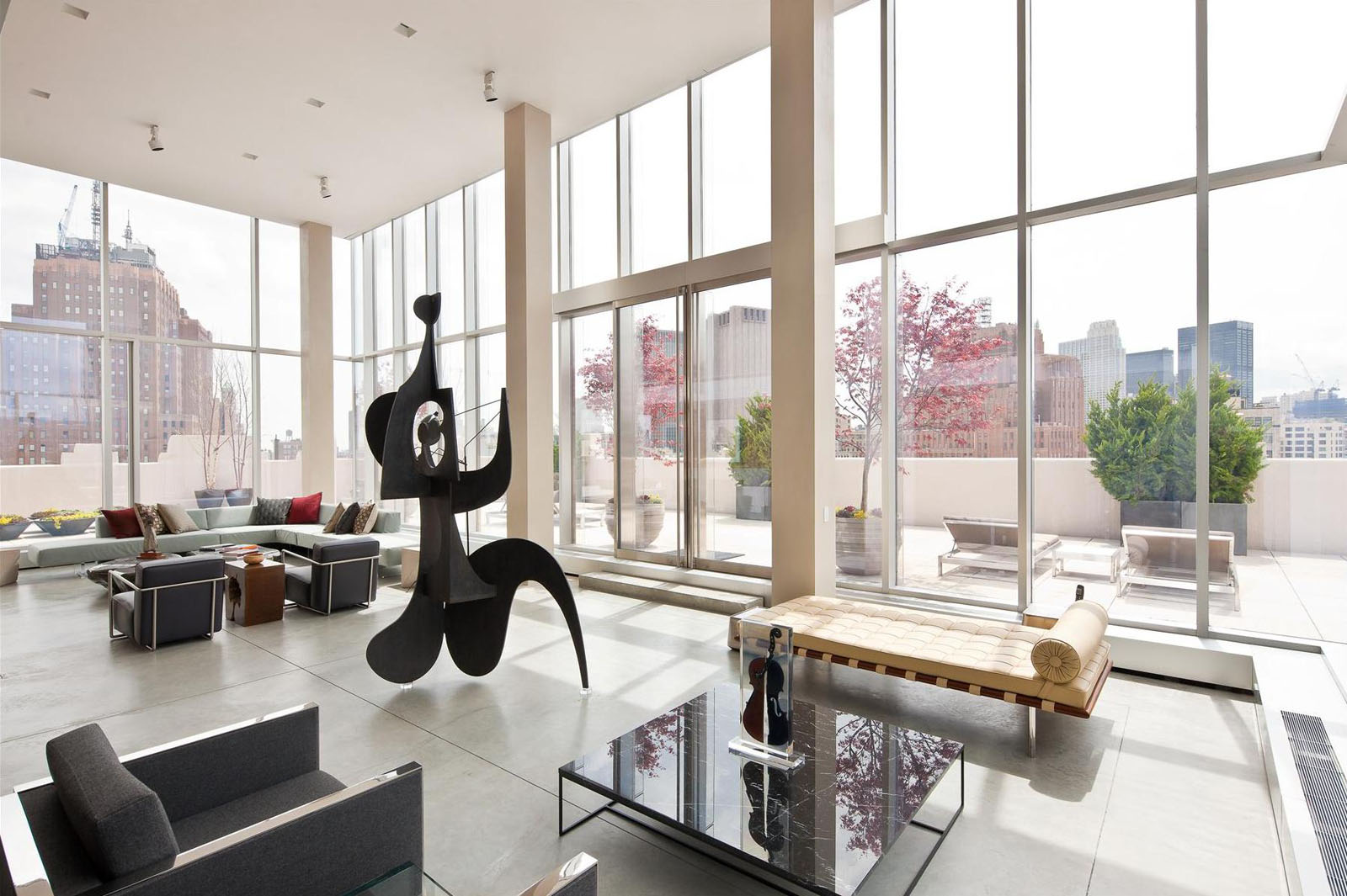 The Ultimate Manhattan Penthouse In Tribeca  iDesignArch  Interior Design Architecture
