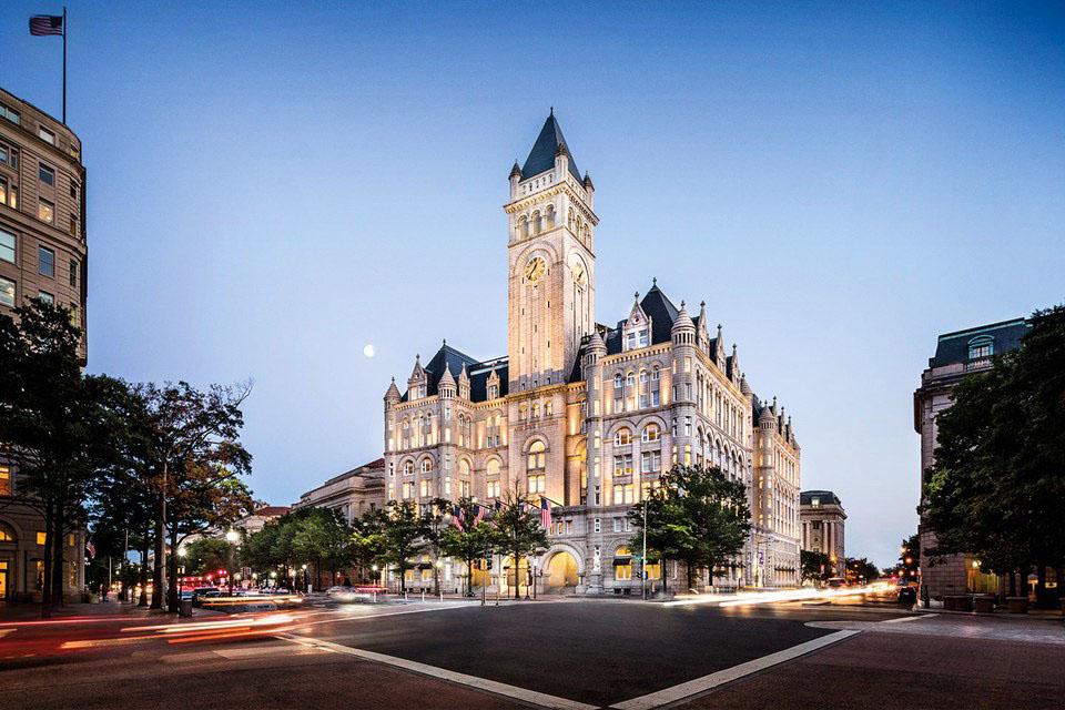 Romanesque Revival Style Trump International Hotel Washington DC  iDesignArch  Interior