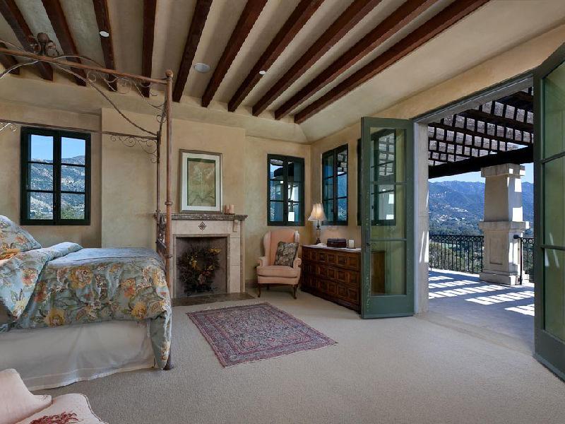 TuscanStyle Villa In Montecito  iDesignArch  Interior Design Architecture  Interior
