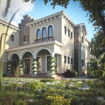 Tuscan Inspired Villa In Dubai Idesignarch Interior