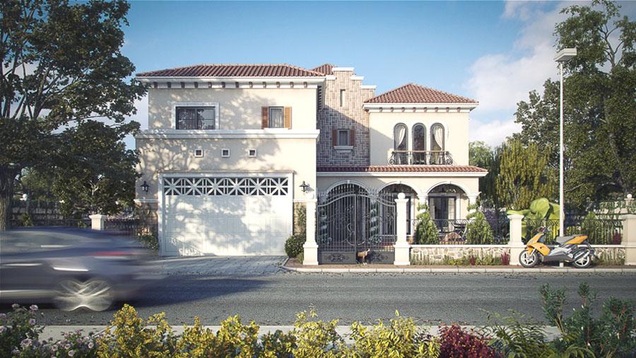 Tuscan Inspired Villa In Dubai  iDesignArch  Interior