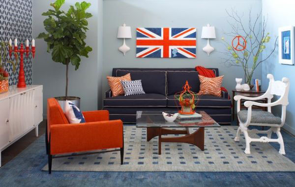 Union Jack Interior Decor Ideas  iDesignArch  Interior Design Architecture  Interior
