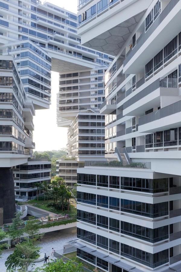 Interlace Vertical Village Apartment Complex In