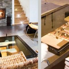Rustic Kitchen Island Ideas Black Villa Siberg - A Contemporary House With Wine ...