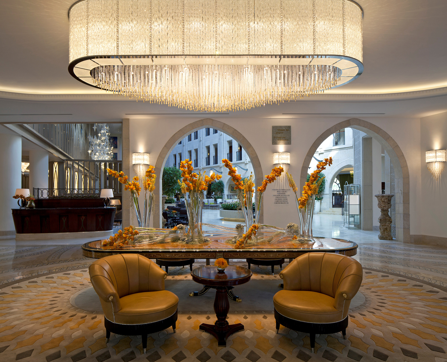 Waldorf Astoria Jerusalem Hotel A Mix of Contemporary Elegance and Eclectic Architecture