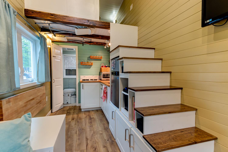Custom Finished Tumbleweed Mobile Tiny House