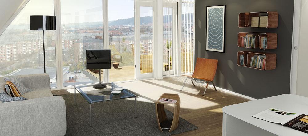 Unique Apartment Complex In Vejle  iDesignArch  Interior