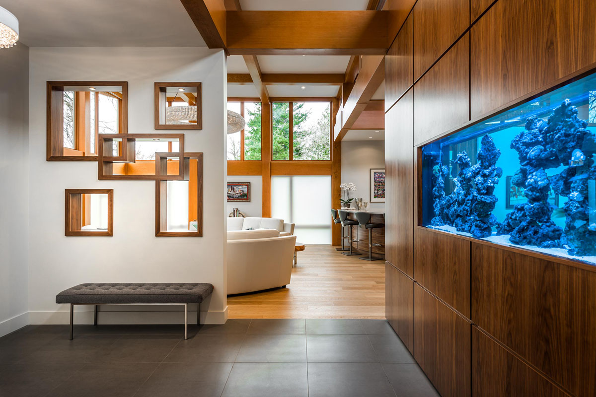 Energy Efficient West Coast Modern Home in British Columbia  iDesignArch  Interior Design