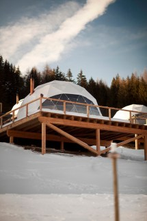 Whitepod Hotel - Eco-luxury Alpine Retreat