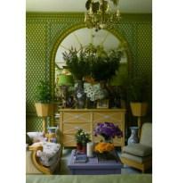 Elegant Winter Garden With Rich Interior Decor ...