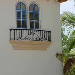 Building An Outdoor Kitchen Backsplash Home Depot Wrought Iron Balconies With Architectural Appeal ...