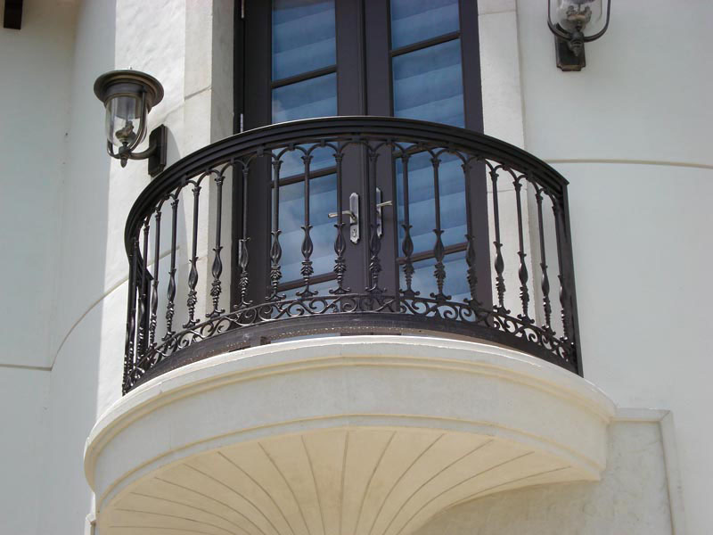 Wrought Iron Balconies With Architectural Appeal  iDesignArch  Interior Design Architecture