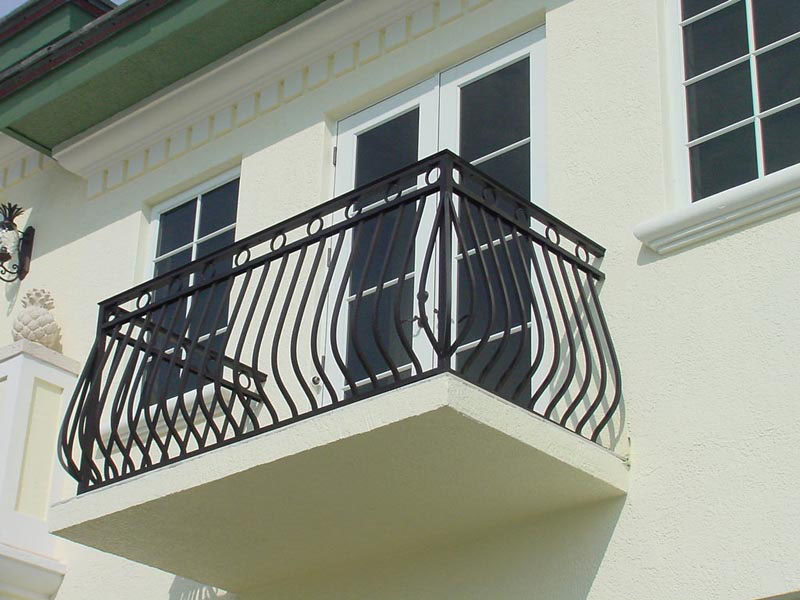Wrought Iron Balconies With Architectural Appeal