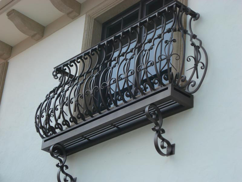 outdoor kitchens kitchen cabinets newark nj wrought iron balconies with architectural appeal ...