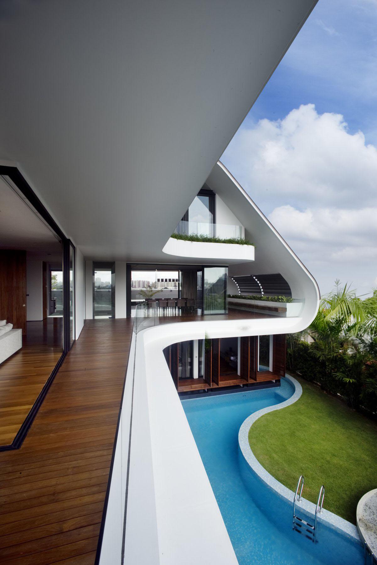 Yacht House Design In Singapore  iDesignArch  Interior