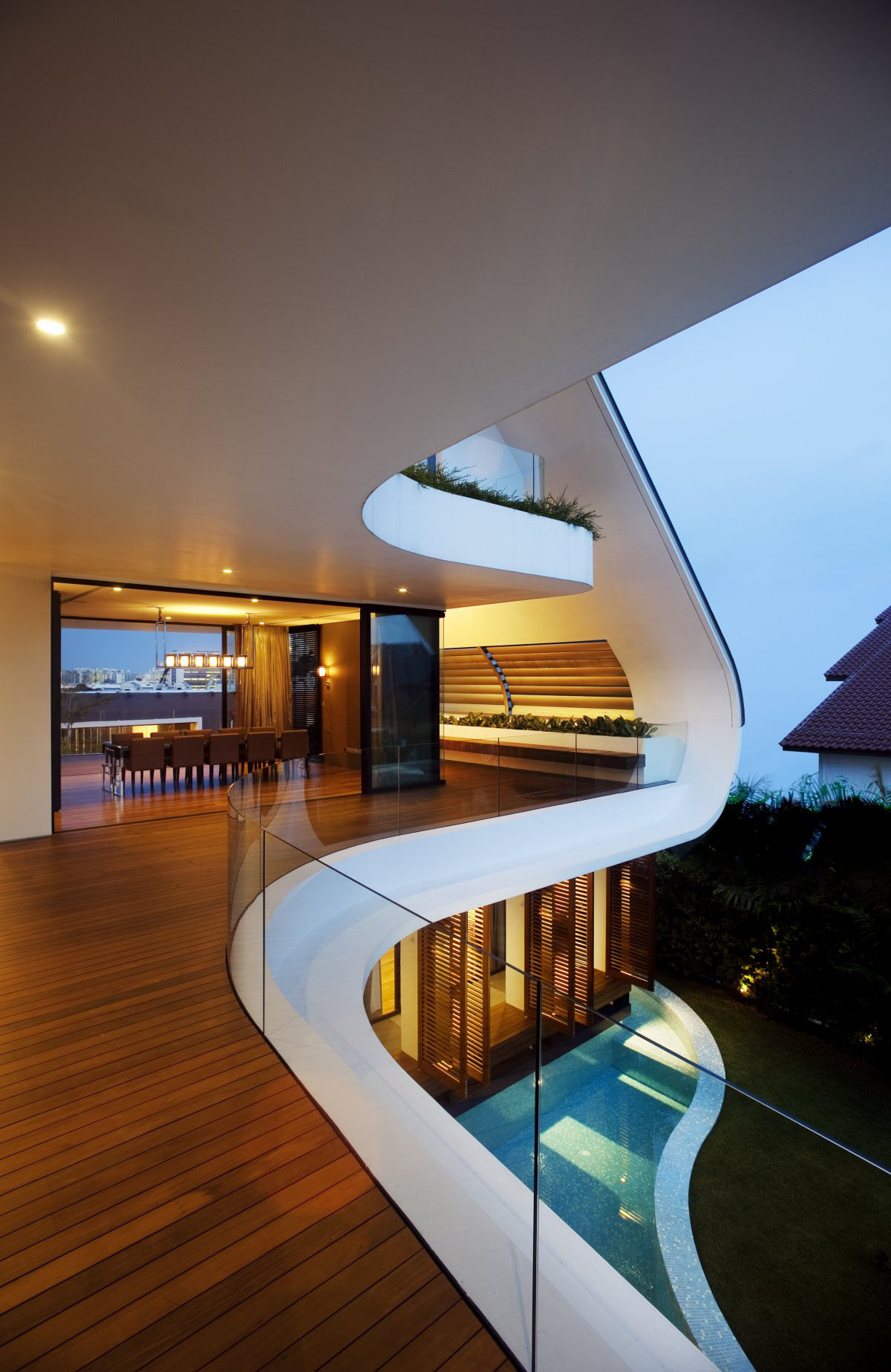 Yacht House Design In Singapore Idesignarch Interior