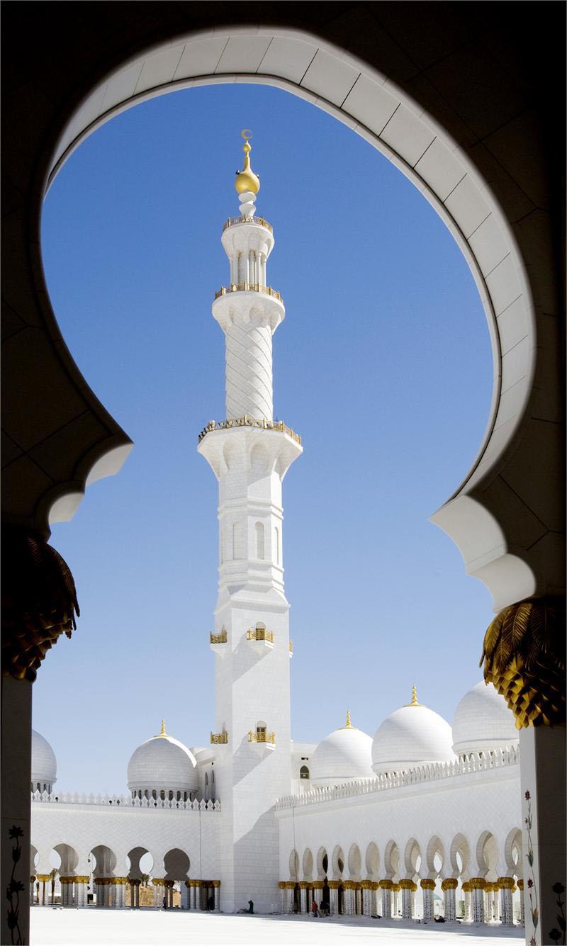 Sheikh Zayed Grand Mosque Abu Dhabi Idesignarch