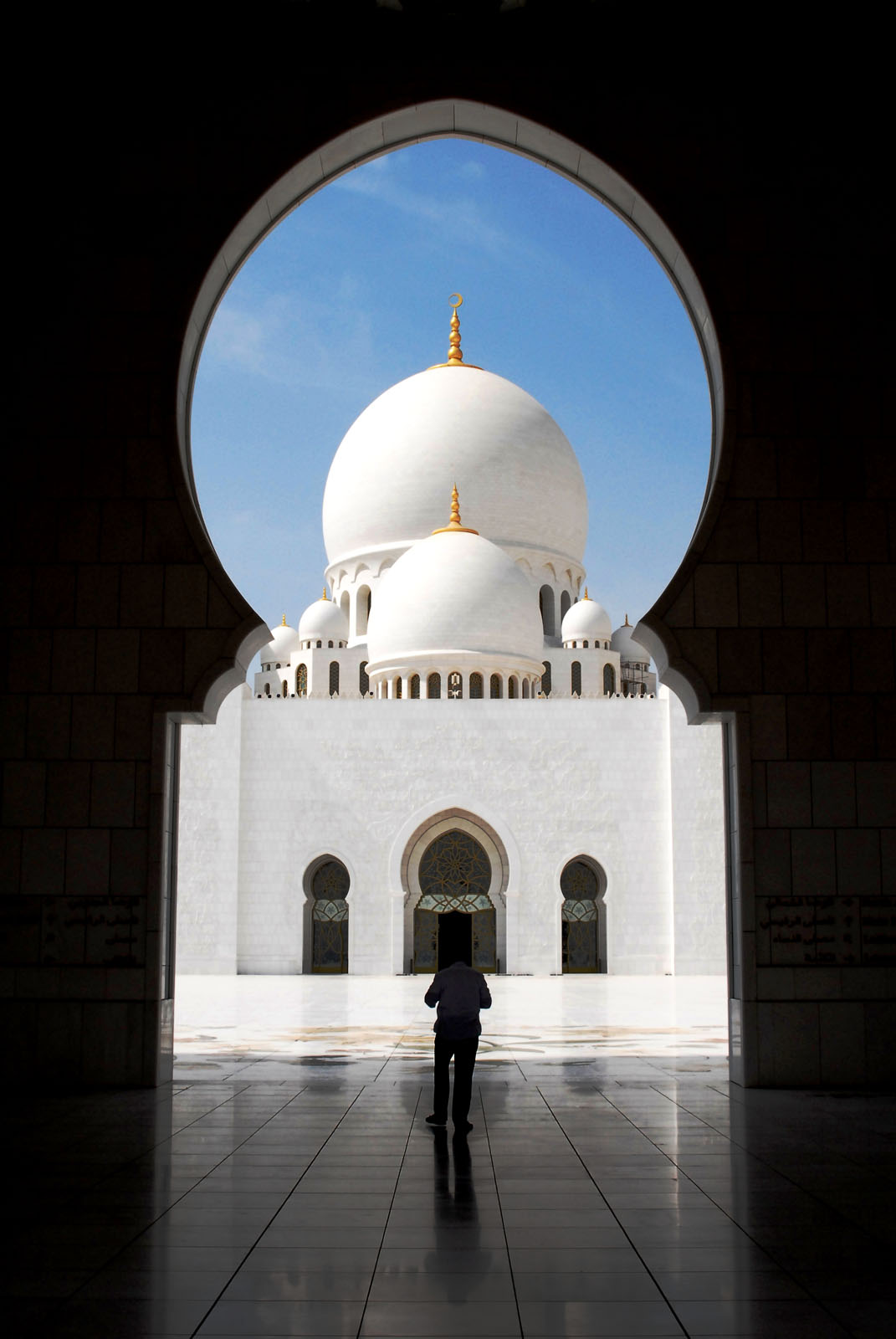 Sheikh Zayed Grand Mosque Abu Dhabi Idesignarch