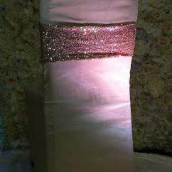 Chair Covers And Sashes Rental Waterproof Australia Gold Rose Glitz Band