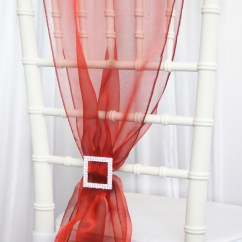 Rental Chair Covers And Sashes To Hire Organza Sash