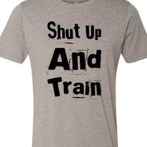 shut-up-and-train-tee