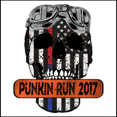 PUNKIN RUN 2017 Sticker